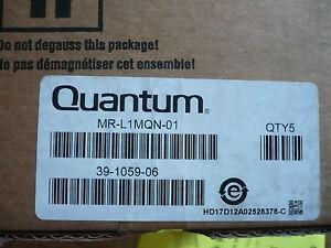 Box of 5 New Genuine OEM Quantum MR-L1MQN-01 Data Cartridges Tapes Ultrium 1