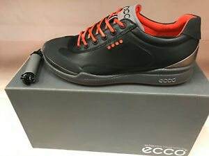 NEW ECCO BIOM HYBRID BLACK Men's Golf Shoes 39 5-5.5 WERE $215