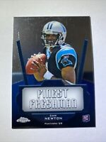 2011 Topps Chrome Finest Freshman Cam Newton Rookie Panthers