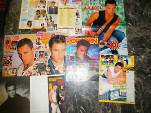 NICK KAMEN  100 TEILE/PARTS CLIPPINGS  LOT  0116