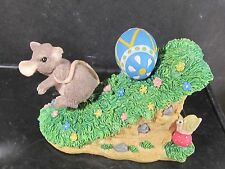 Early Silvestri Charming Tails Look Out Below Mouse Easter Egg Snail #87/373