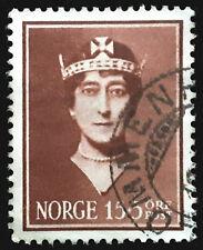 Norway Semi Postal Stamp 1939 Queen Maud Scott # B12 Used