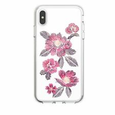 Lot of 75 Speck Presidio Case iPhone XS Max Embroidered Floral Fuschia Clear