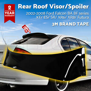 Rear Roof Visor/Spolier Wing/Sun Shade fr 2002-2008 FORD FALCON BA BF XT/XR6/XR8