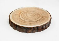 RUSTIC WOOD SLICE WOOD LOG 17-24CM CENTERPEICE EVENT PARTY HOME DECOR