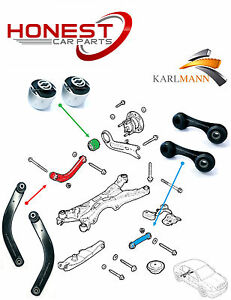 For VAUXHALL VECTRA C SIGNUM REAR UPPER SUSPENSION ARMS & LINK BARS & AXLE BUSHS