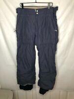 Burton Men's Snowboard Tactic Ski Snow Pants Nylon Gray Size L Large