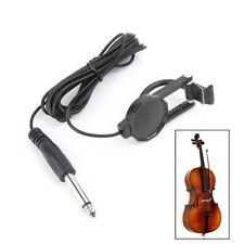 Clip-On Pickup For Acoustic Guitar Mandolin Bouzouki Violin Banjo Ukulele Lute