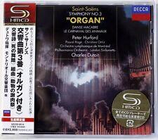 SAINT-SAENS Symphony No. 3 Organ / HURFORD - SHM-CD JAPAN