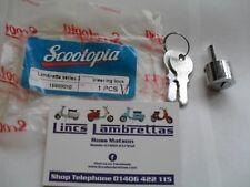 Lambretta scootopia s3+gp c.a.m.a. steering lock and 2 keys.