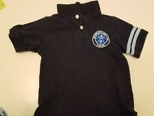 Gymboree  Space Voyager Short Sleeve Space Team Patch Polo Shirt Size 5