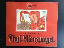 Joli album Images chromos chocolat Meurisse Thyl Ulenspiegel