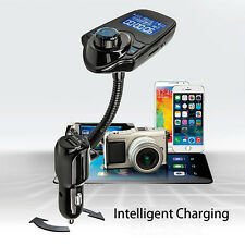 Bluetooth Music to Car Radio FM Transmitter Handsfree Charger for iPhone 7 6s 5s