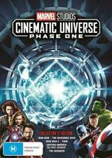 Marvel Studios Cinematic Universe Phase One 1 R4 DVD