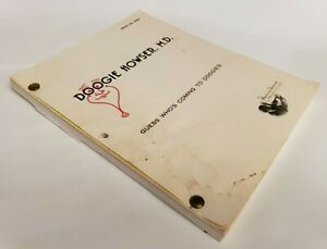 """DOOGIE HOWSER, M.D. / Mitchel Katlin 1990 Script """"Guess Who's Coming to Doogies"""""""
