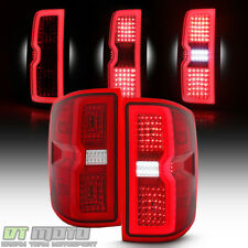 [3D Sequential] 2014-2018 Silverado 1500 15-19 2500/3500HD LED Tail Lights Lamps