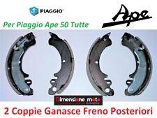 0221 - Kit Ganasce Freno RMS Posteriori per PIAGGIO Ape 50 MIX 2T dal 1999 >2017