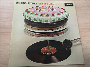 "ROLLING STONES ""LET IT BLEED"" ORIG UK MONO 1969 VG++/VG"