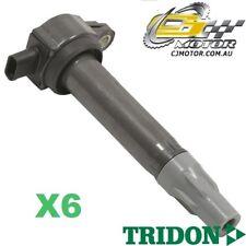 TRIDON IGNITION COIL x6 FOR Chrysler  Sebring JS 12/07-06/10, V6, 2.7L 8N