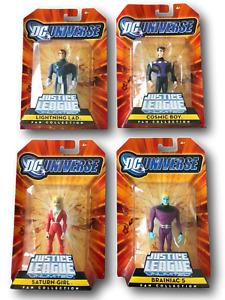DC Justice League Unlimited 4 Figures Legion of Super Heroes