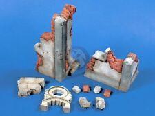 Verlinden 120mm 1/16 Assorted Building Ruins & Debris WWII [Plaster Diorama] 558