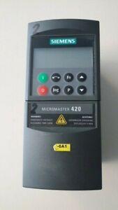 Siemens Frequenzumrichter Micromaster 420