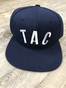 Tacoma Rainiers Baseball Embroidered TAC Logo Hat Snapback Cap Blue NEW