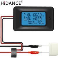 Digital Voltage Meters Indicator Power Energy Voltmeter Current Amps Watmeter