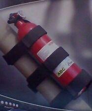Rugged Ridge 13305.21 Black Roll Bar Fire Extinguisher Holder, Jeep 55-16