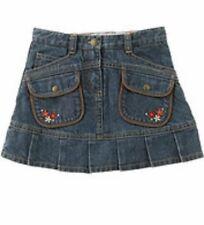 NEW Gymboree MOUNTAIN CABIN Blue Denim SZ 4 - HOLIDAY SKORT (Skirt) Multi Avail