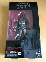 STAR WARS THE BLACK SERIES THE MANDALORIAN 6 INCH ACTION FIGURE HASBRO DISNEY