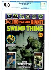 SWAMP THING GIANT #5 CGC 9.0 DC COMICS 2019 WALMART EXCLUSIVE WHITE PAGES