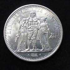 10 Francs Hercule 1965 silver 90% (TTB+ with a few scratches)