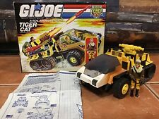 GI JOE 1988 TIGER FORCE TIGER CAT TIGER FORCE FROSTBITE ARAH HASBRO ORIGINAL BOX