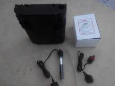 Filtro interior Acuario Milo 28-160L +Bomba hydor pico 300+Calentador hydor 100w