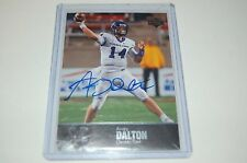 2011 UD College Football Legends Autograph Auto Andy Dalton Bengals Upper Deck