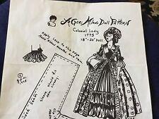 Geri Milano Doll Clothing Pattern 18 to 20