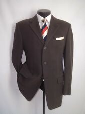 Gianni Versace Couture Brown 3 Buttons Corduroy Cotton&Wool Vtg Jacket Coat 40 R