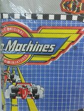 "54"" × 96"" Super Rare Vintage Micro Machines Tablecloth Sealed In Package"