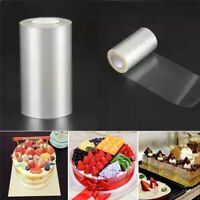 Cake Collars Film Sheets Rolls Transparent for Chocolate Mousse Baking Decor
