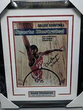 David Thompson NC State Basketball 11x14 Photo SI Photo FRAMED Autograph COA