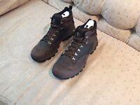 Timberland Keele Ridge Waterproof Mid Hiker Boots For Men (Brown) Size 13