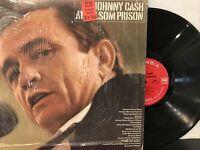 Johnny Cash – At Folsom Prison LP 1968 Columbia – CS 9639 VG/VG+ in Shrink