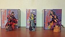 DC Direct Women Of The DC Universe Series 2 Cat Woman Bundle 3 Statues!
