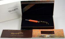 MONTBLANC Writers Edition Ernest Hemingway Kugelschreiber mit Box ballpoint pen