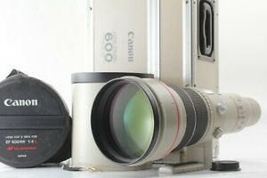 【 Mint IN Originale Tronco 】 Canon Ef 600mm f4 L USM Ultrasonic Lente Da Japan #