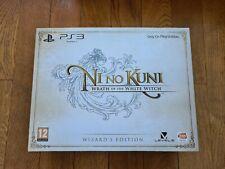 Ni No Kuni Collector limited edition FR PAL PS3 très bon état
