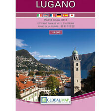 Lugano Pianta della Città [Scala: 1:8.000] [Carta/Mappa/Cartina] Global Map