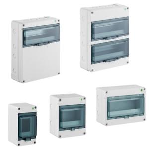 Kleinverteiler IP65 400V AC Aufputz Sicherungskasten Feuchtraum Verteilerkasten