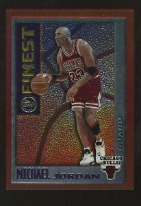 1995-96 Topps Finest #M1 Michael Jordan Chicago Bulls HOF